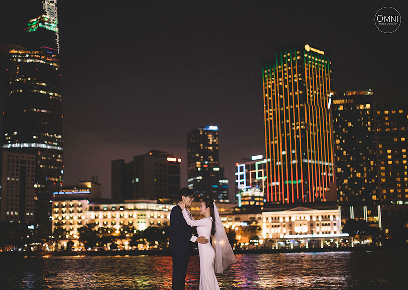 Pre Wedding Album Sài Gòn – SaiGon By Night